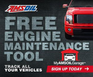 Free Engine Maintenance Tool - Track All Your Vehicles With My Amsoil Garage - Sign Up Today !