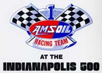 Amsoil Racing Team At The Indianapolis 500 Logo